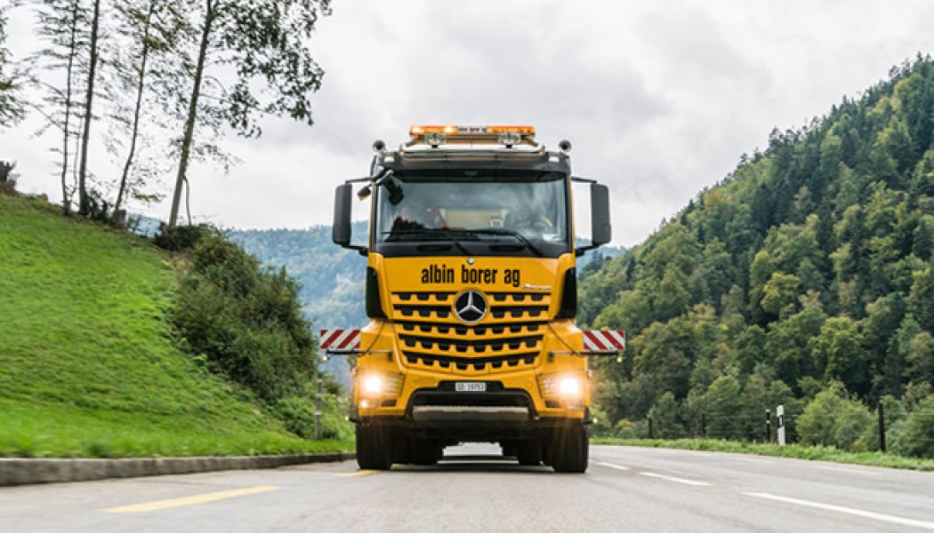Turboembrague Retardador de Mercedes-Benz para realizar los más duros trabajos