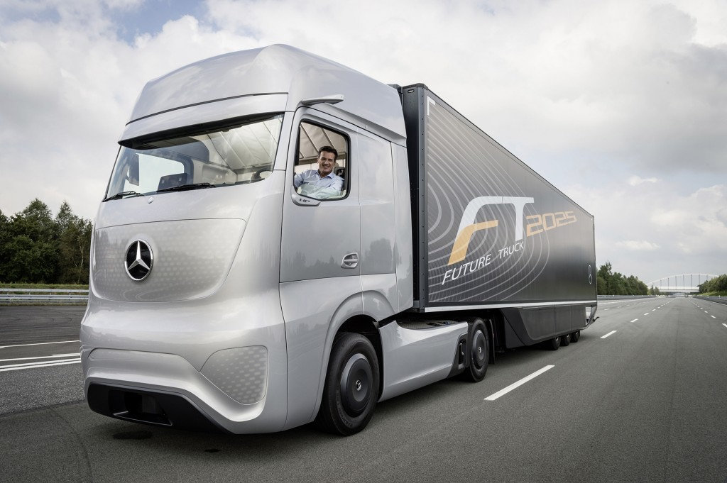 Mercedes-Benz Future Truck 2025