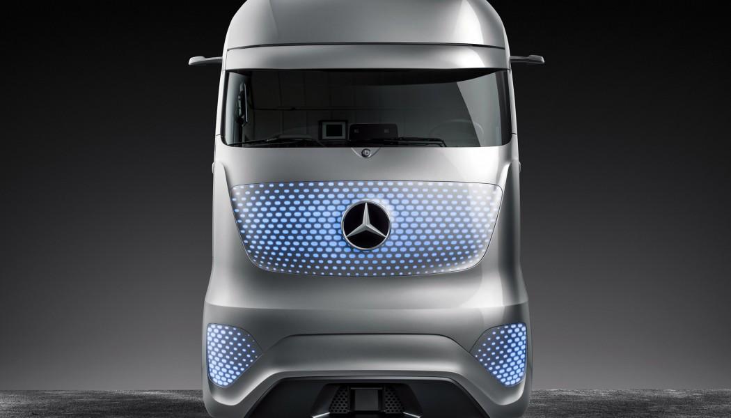El camión Mercedes del futuro