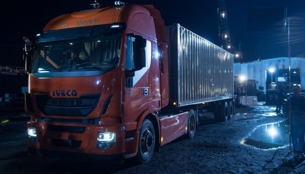 Iveco Stralis presente en Batman Vs. Superman