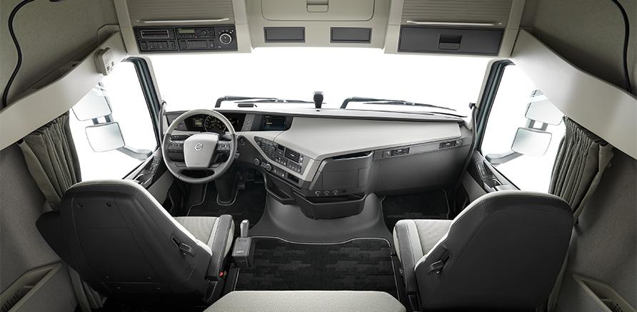 new volvo fh interior sobre camiones. Black Bedroom Furniture Sets. Home Design Ideas