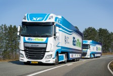 DAF presentará el EcoTwin en el European Truck Platooning Challenge