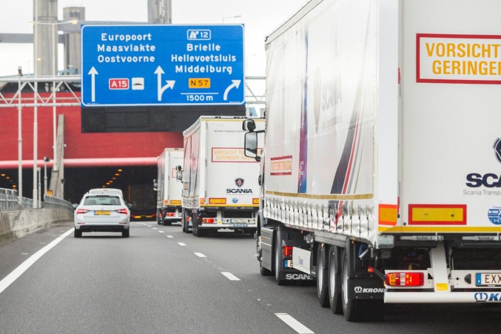 Aankomst European Truck Platooning Challenge