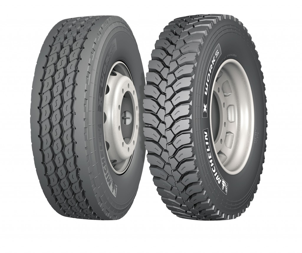 The 315/80 R 22.5 tyre is available as either an all-round X Works XZY fitment, or as the drive-axle specific X Works XDY.