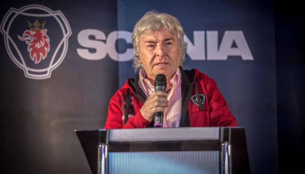 Ángel Nieto apadrina el Bosque Scania