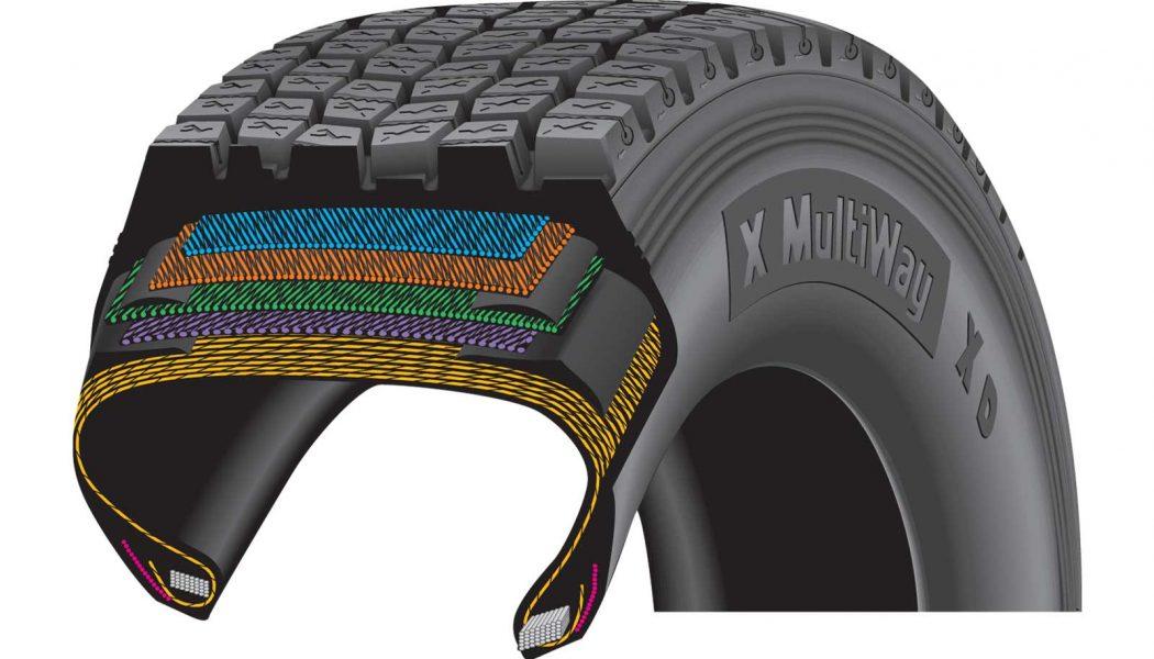 Contrarrestar el envejecimiento de los neumáticos de camión