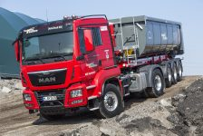 MAN expone sus mejores camiones para la construcción en Bauma 2016