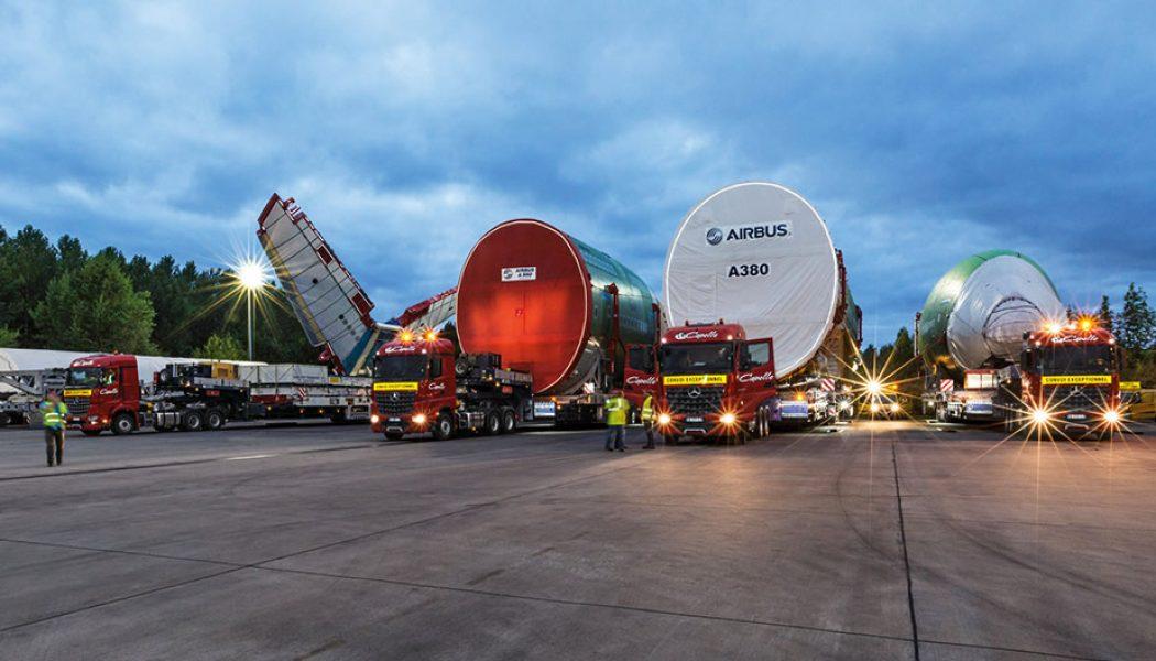 Cómo transportar un Airbus A380