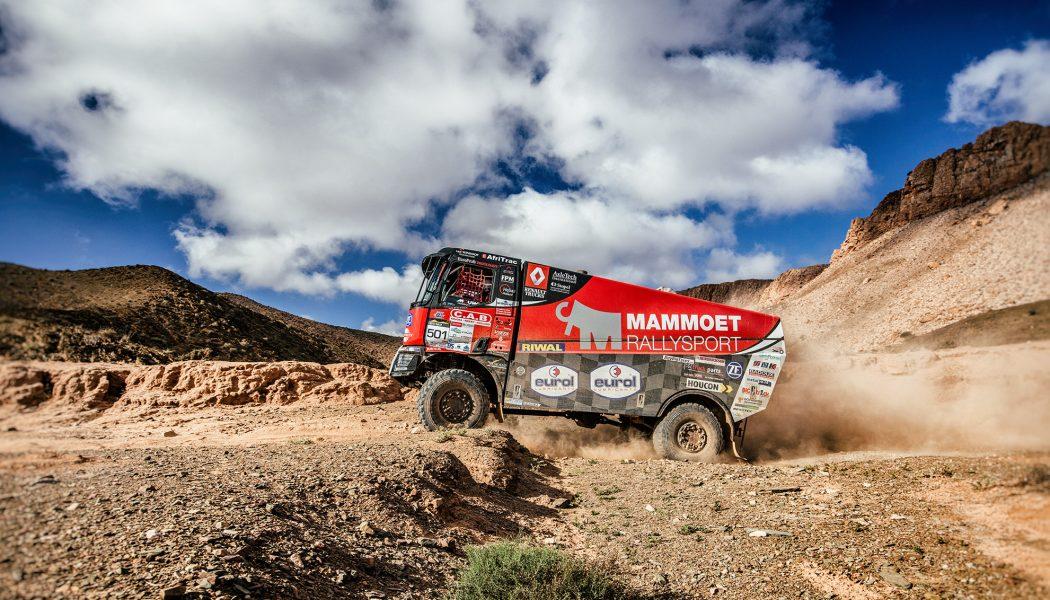 Victoria en el Rally de Libia para el equipo Mammoet Rallysport y su Renault K 520