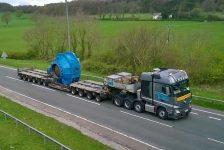 Transporte pesado de Gales hasta Alemania con Actros