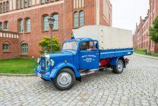 Un Mercedes L 3000 para huir de Alemania del Este