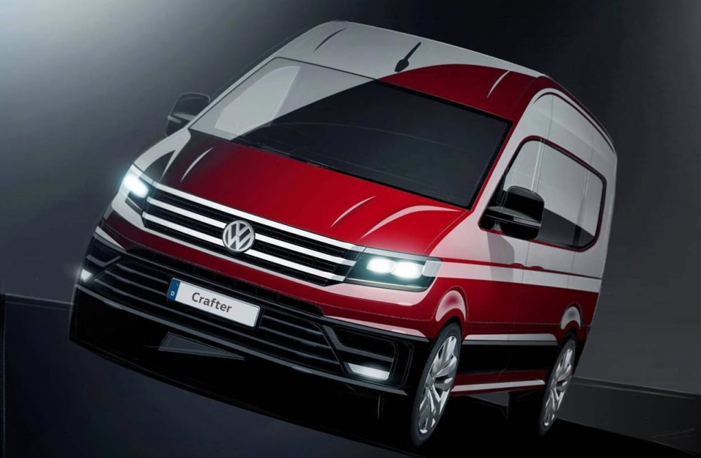 Nuevo Crafter 2017 de Volkswagen