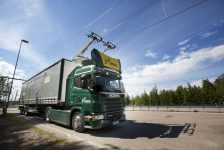 Suecia inaugura la primera carretera eléctrica