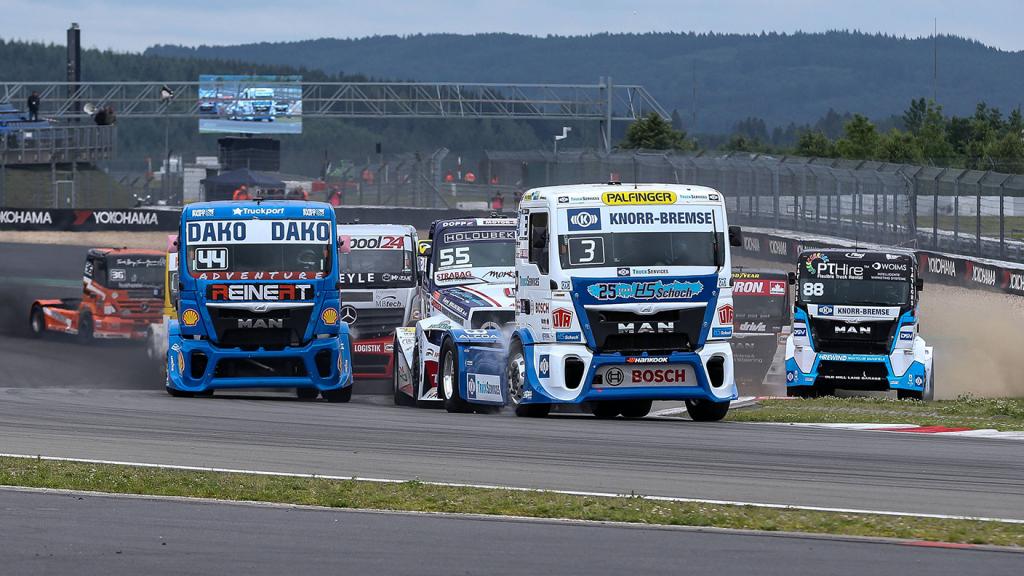 Start beim Truck Grand Prix