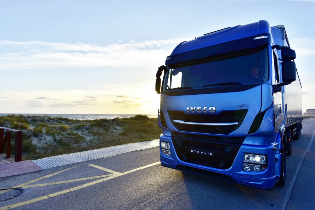 Iveco launches the New Stralis NP - a revolutionary gas truck for sustainable long-haul transport.