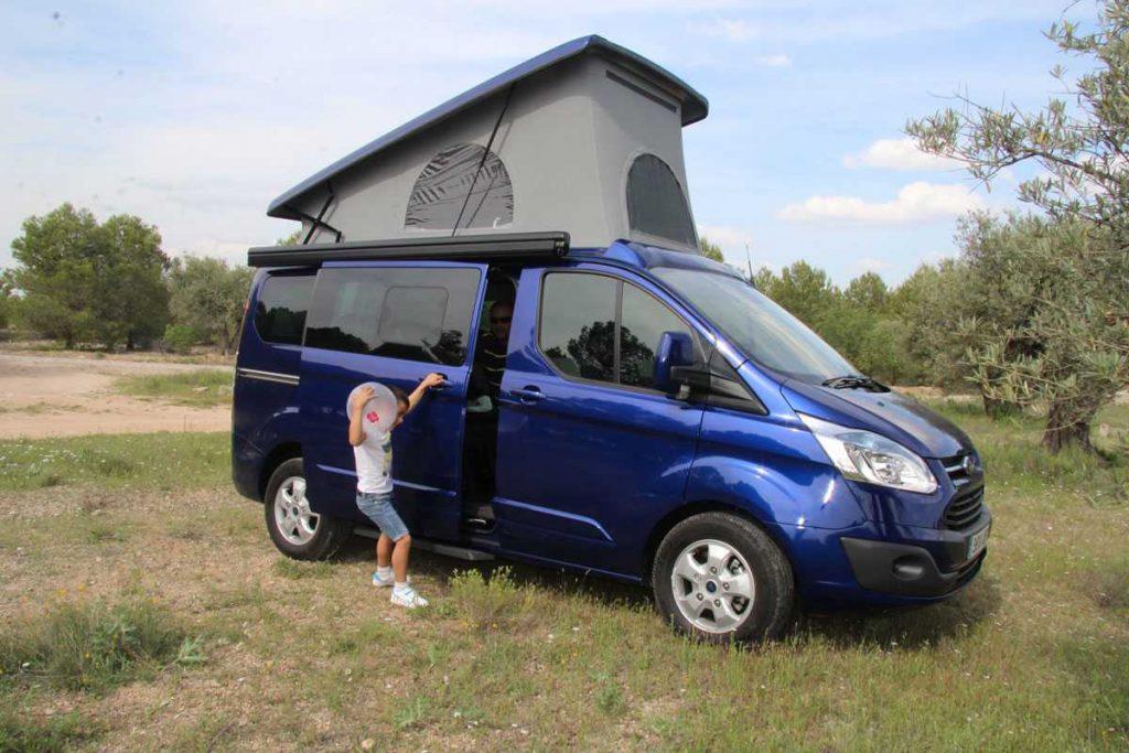 Ford Transit Custom Camper >> De RoadTrip con la Ford Custom by Tinkervan – Sobre Camiones