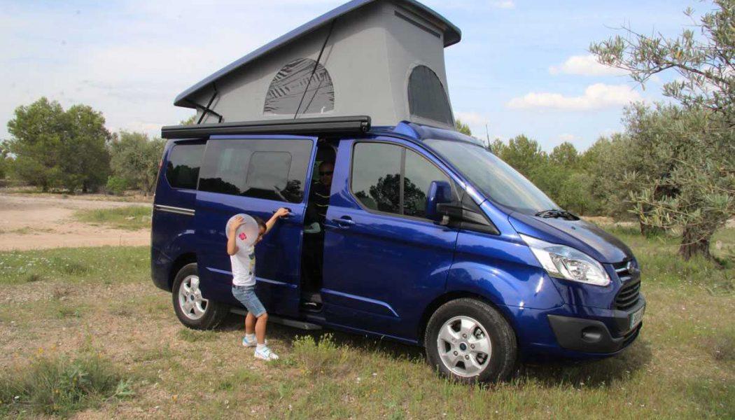 De RoadTrip con la Ford Custom by Tinkervan