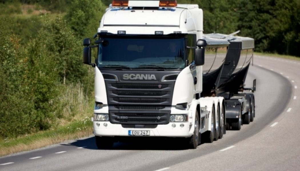 Transporte sostenible con Scania