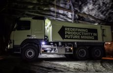 Conducción autónoma con un Volvo FMX