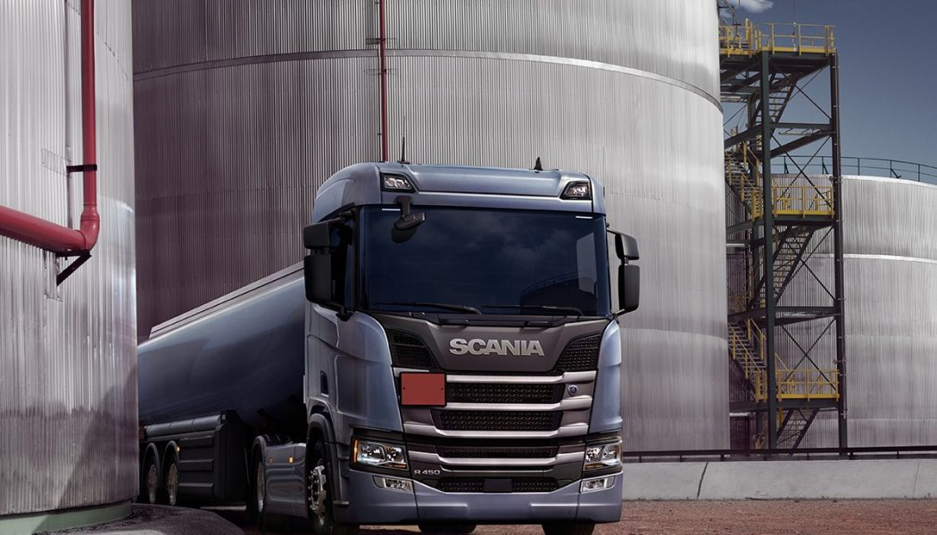 Transporte de combustible con Scania