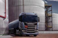 Transporte de combustible con Scania