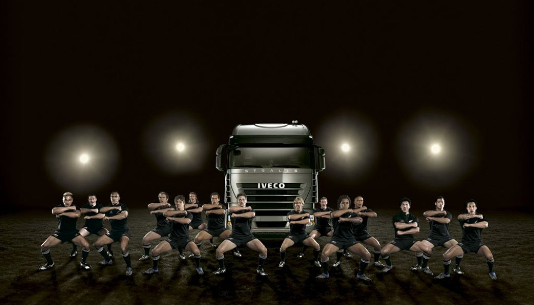 Iveco y los All Blacks