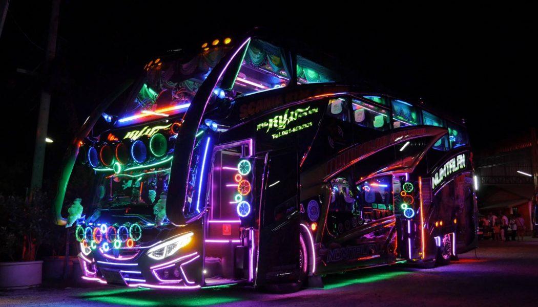 Discobuses Scania en Tailandia