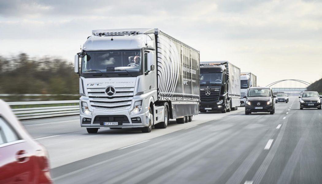 Camiones autónomos en Japón