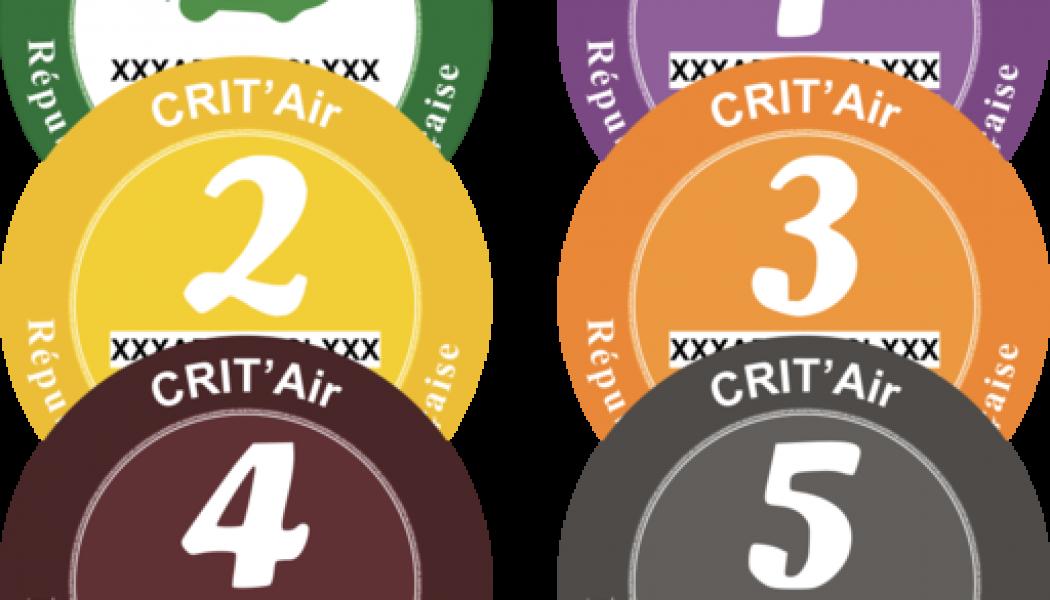 Obligatorio usar el distintivo Crit'Air en Francia