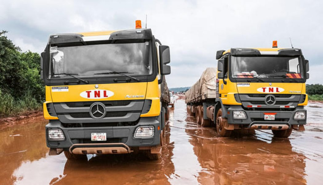 Mercedes-Trucks en Nigeria