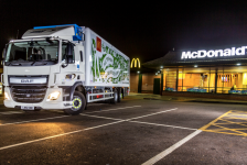 Scania y Havi ayudan a reducir huella de carbono de McDonald's
