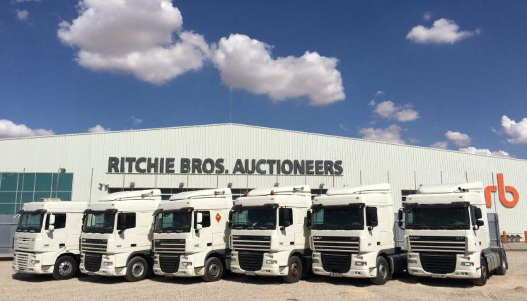 La gran subasta de Ritchie Bros