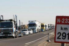 Tráfico prohibirá la circulación de camiones en la N232