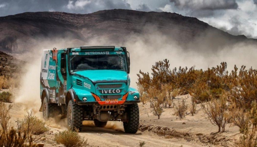 El equipo Petronas de Rooy Iveco, en África Eco Race y Dakar 2018
