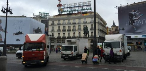 Ordenanza de movilidad en Madrid