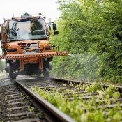 Mercedes-Benz Unimog en los ferrocarriles de Hungría