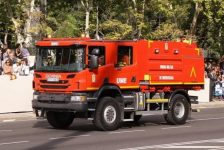 10 nuevos Scania para la UME