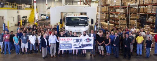 Isuzu produce la unidad 50.000 de la Serie N