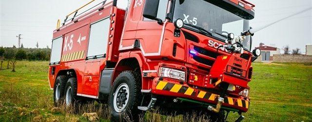 Aena escoge a Scania para sus vehículos autoextintores