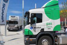 Scania reafirma su apuesta por el gas natural