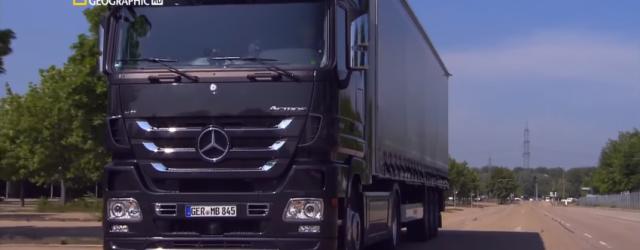 Mercedes Actros en su espectacular planta de Wörth