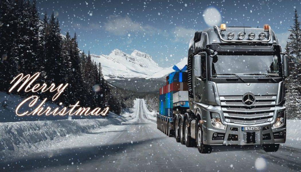 Los camiones más navideños
