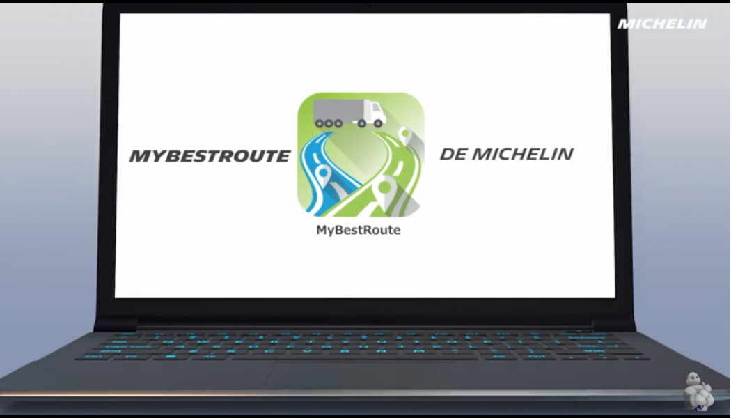 MyBestRoute para Camiones Michelin