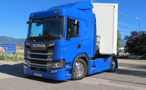 El Scania G 410 GNL nombrado vehículo industrial ecológico del 2019