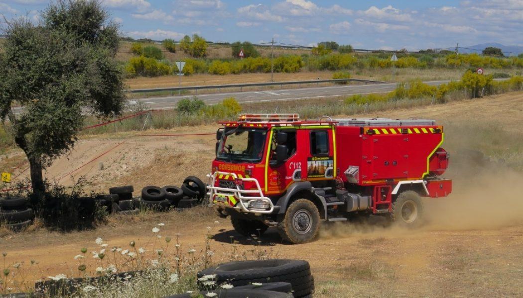 Renault Trucks y el campeonato de vehículos forestales