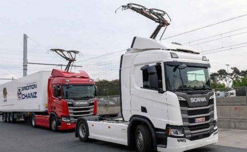 La autopista eléctrica en Alemania