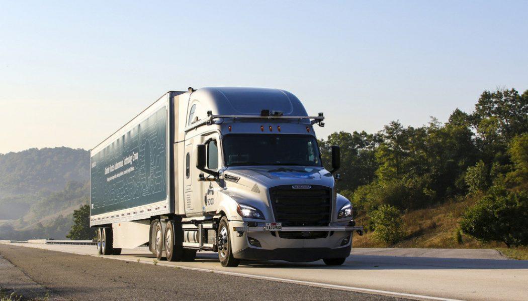 Los camiones autónomos de Daimler