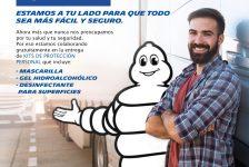 Michelin te entrega un kit anticoronavirus al registrarte en MyPortal