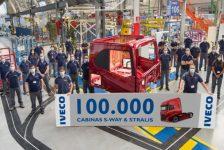IVECO produce su cabina pesada número 100.000 en Valladolid