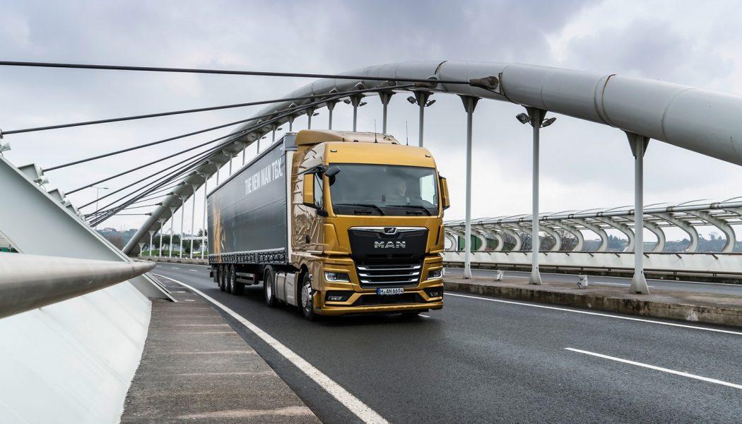 Los nuevos camiones MAN ahorran hasta un 8,2% de combustible